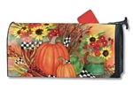 Ready for Fall MailWraps Mailbox Cover