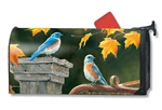 Bluebird Meeting MailWraps Mailbox Cover