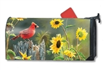 Cardinal View MailWraps Mailbox Cover