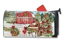 Christmas on the Farms MailWraps Mailbox Cover
