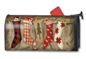 Christmas Stockings MailWraps Mailbox Cover