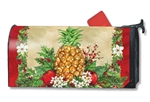 Holiday Pineapple MailWraps Mailbox Cover