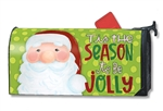 Jolly St. Nick MailWraps Mailbox Cover