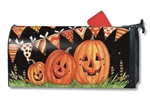 Party Time Pumpkins MailWraps Mailbox Cover