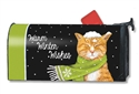 It's Cold Outside MailWraps Mailbox Cover