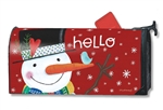 Winter Happiness MailWraps Mailbox Cover