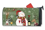 Party in the Woods MailWraps Mailbox Cover