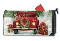 Bringing Home the Tree MailWraps Magnetic Mailbox Cover