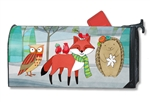 Woodland Friends MailWraps Magnetic Mailbox Cover