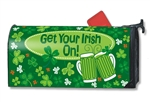 Get Your Irish On MailWraps Magnetic Mailbox Cover