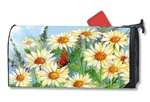 Shasta Daisies MailWraps Magnetic Mailbox Cover