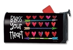 Hearts and Arrows MailWraps Magnetic Mailbox Cover