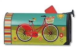 Summer Ride MailWraps Magnetic Mailbox Cover