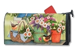 Front Porch Flowers MailWraps Magnetic Mailbox Cover
