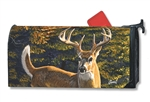 Whitetail Buck MailWraps Magnetic Mailbox Cover