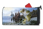 Big Catch MailWraps Magnetic Mailbox Cover