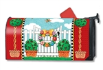 Topiary Gate MailWraps Mailbox Cover