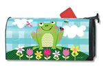 Happy Frog MailWraps Mailbox Cover