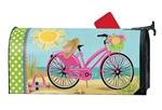 Morning Beach Ride MailWraps Mailbox Cover