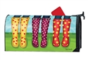 Happy Spring MailWraps Mailbox Cover