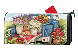 Flower Pickin' Time MailWraps Mailbox Cover