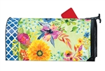 Fresh and Pretty Floral MailWraps Mailbox Cover