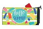 Ice Cream and Popsicles MailWraps Mailbox Cover