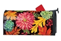 Vibrant Autumn Mix MailWraps Mailbox Cover