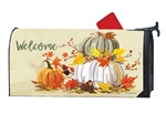 Neutral Pumpkins MailWraps Mailbox Cover