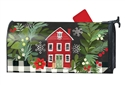 Homespun Christmas MailWraps Mailbox Cover