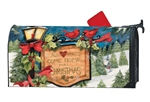 Hometown Christmas MailWraps Mailbox Cover