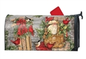 Front Porch Christmas MailWraps Mailbox Cover