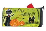 Black Cat Magic MailWraps Mailbox Cover