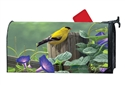 Goldfinch Perch MailWraps Mailbox Cover