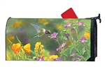 Hummingbird Hover MailWraps Mailbox Cover