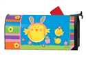 Easter Chicks MailWraps Mailbox Cover