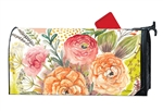 Fresh Flowers MailWraps Mailbox Cover
