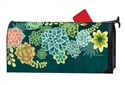 Boho Succulents MailWraps Mailbox Cover