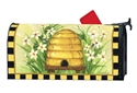 Bee Skep MailWraps Mailbox Cover
