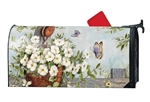 Petunias on Pulley MailWraps Mailbox Cover