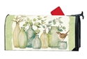 Eucalyptus Vases MailWraps Mailbox Cover