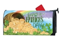 Pot of Gold MailWraps Mailbox Cover