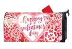 Valentine Lace MailWraps Mailbox Cover