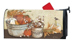 Farmhouse Pumpkins MailWraps Mailbox Cover