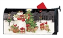 Hometown Snowman MailWraps Mailbox Cover
