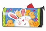Bunny Wanna Be MailWraps Magnetic Mailbox Cover