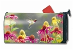 Hummingbird Heaven MailWraps Magnetic Mailbox Cover