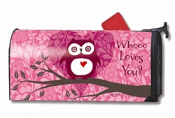 Who Loves You? MailWraps Magnetic Mailbox Cover