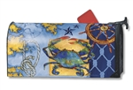 True Blue MailWraps Magnetic Mailbox Cover