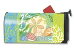 Sand Dollar MailWraps Magnetic Mailbox Cover